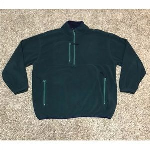 TITLEIST By CORBIN 1/2 Zip Fleece Pullover L Rare